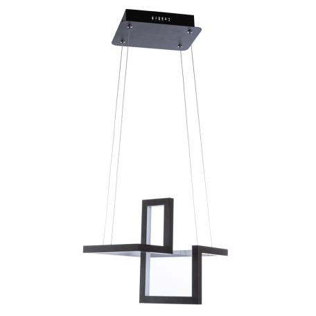 Подвесной светодиодный светильник Arte Lamp Mercure A6011SP-1BK, LED 33W 4000K 1800lm CRI≥80, черный, металл, металл с пластиком