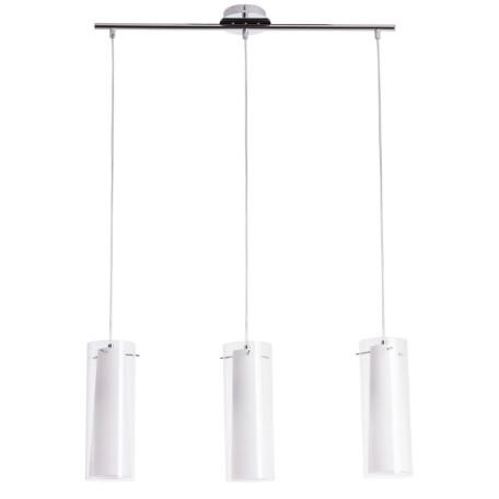 Подвесной светильник Arte Lamp Aries A8983SP-3CC, 3xE27x60W, хром, белый, металл, стекло