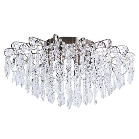 Потолочная люстра Arte Lamp Emilia A1660PL-8AB, 8xE27x40W, бронза, прозрачный, металл, стекло