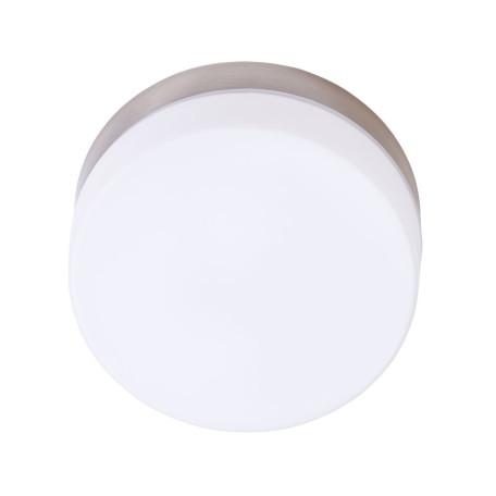 Потолочный светильник Arte Lamp Aqua-Tablet A6047PL-1AB, IP44, 1xE27x60W, бронза, белый, металл, стекло