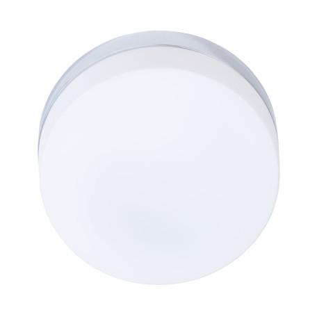 Потолочный светильник Arte Lamp Aqua-Tablet A6047PL-1CC, IP44, 1xE27x60W, хром, белый, металл, стекло