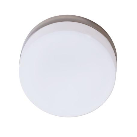Потолочный светильник Arte Lamp Aqua-Tablet A6047PL-2AB, IP44, 2xE27x60W, бронза, белый, металл, стекло