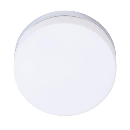 Потолочный светильник Arte Lamp Aqua-Tablet A6047PL-3CC, IP44, 3xE27x60W, хром, белый, металл, стекло
