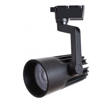 Светодиодный светильник для шинной системы Arte Lamp Instyle Wales A1640PL-1BK, LED 40W, 4000K (дневной), черный, металл