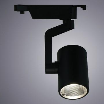 Светодиодный светильник для шинной системы Arte Lamp Instyle Traccia A2311PL-1BK, LED 10W, 3000K (теплый), черный, металл