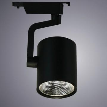 Светодиодный светильник для шинной системы Arte Lamp Instyle Traccia A2321PL-1BK, LED 20W, 3000K (теплый), черный, металл