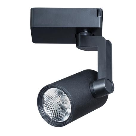 Светодиодный светильник с регулировкой направления света для шинной системы Arte Lamp Instyle Traccia A2311PL-1BK, LED 10W 3000K 800lm CRI≥80, черный, металл
