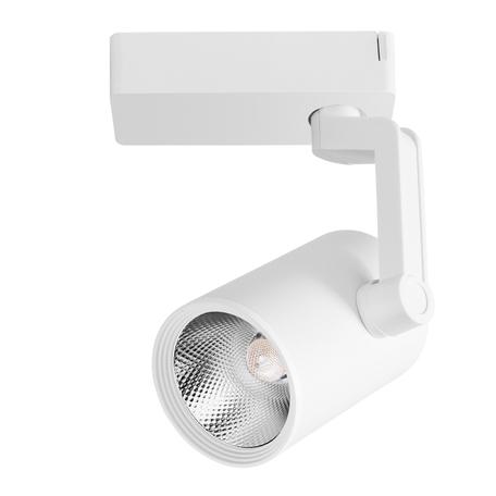 Светодиодный светильник с регулировкой направления света для шинной системы Arte Lamp Instyle Traccia A2321PL-1WH, LED 20W 3000K 1600lm CRI≥80, белый, металл