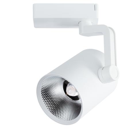 Светодиодный светильник с регулировкой направления света для шинной системы Arte Lamp Instyle Traccia A2331PL-1WH, LED 30W 3000K 1600lm CRI≥80, белый, металл