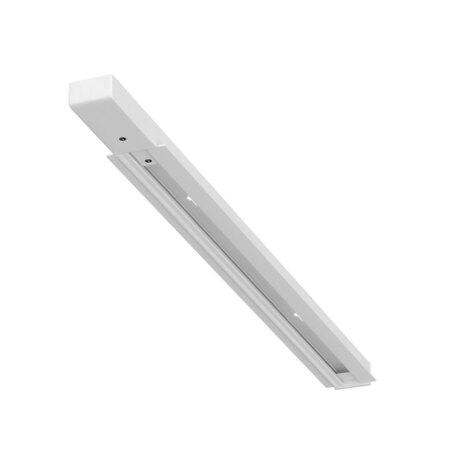 Встраиваемый шинопровод в сборе с питанием и заглушкой Arte Lamp Instyle A550233, белый, металл