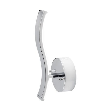 Настенный светодиодный светильник Citilux Джек CL226311, LED 8W 3000-3200K 650lm, хром, металл, металл с пластиком