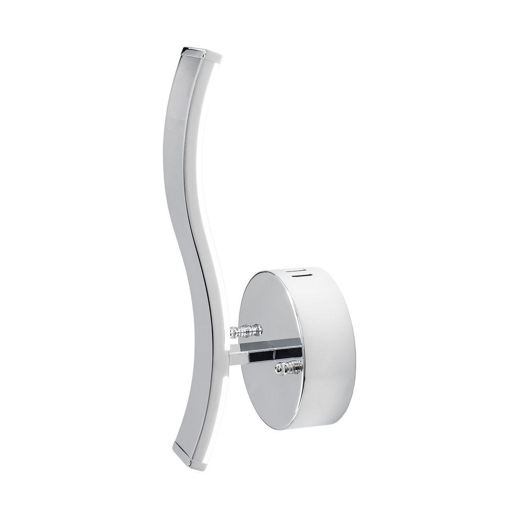 Настенный светодиодный светильник Citilux Джек CL226311 3000-3200K, хром, белый, металл, пластик - фото 1