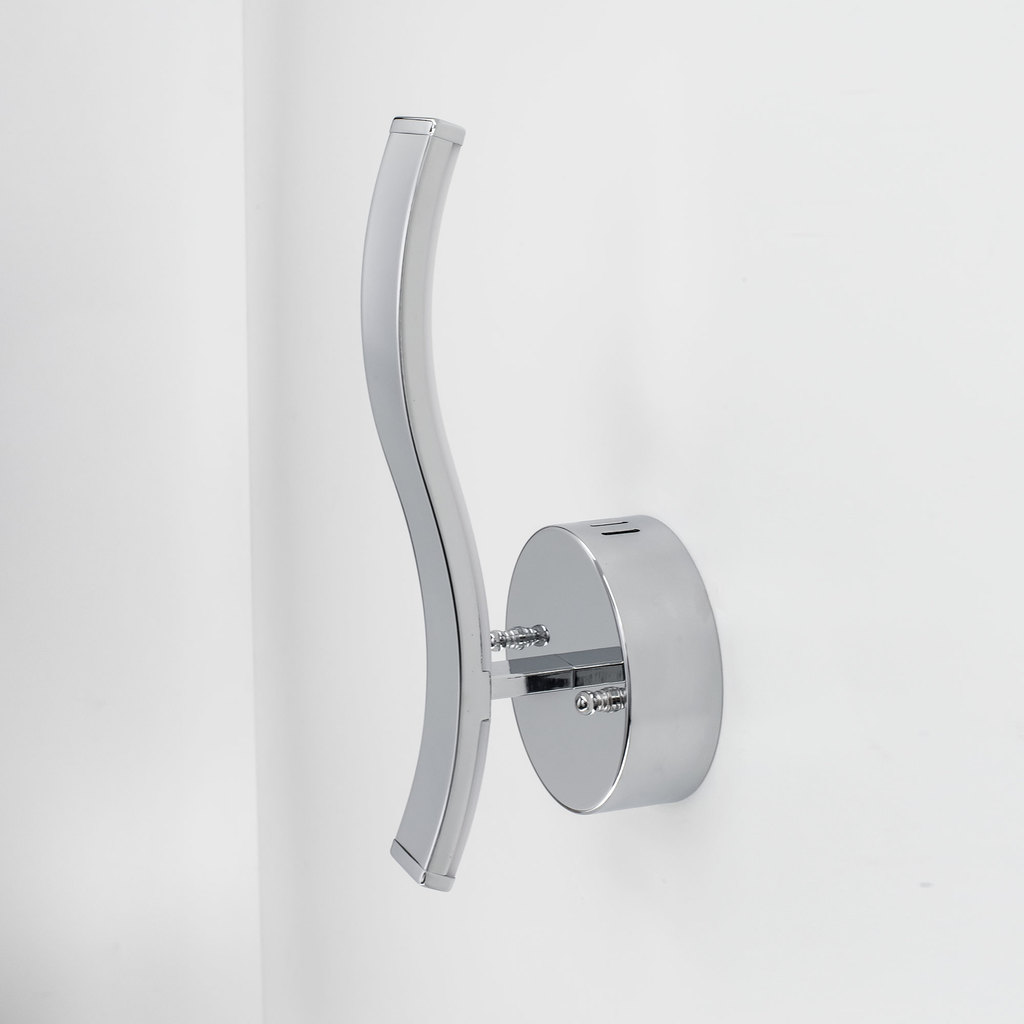 Настенный светодиодный светильник Citilux Джек CL226311 3000-3200K, хром, белый, металл, пластик - фото 3