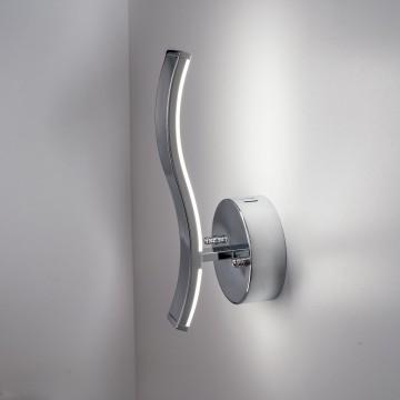 Настенный светодиодный светильник Citilux Джек CL226311 3000-3200K, хром, белый, металл, пластик - миниатюра 4