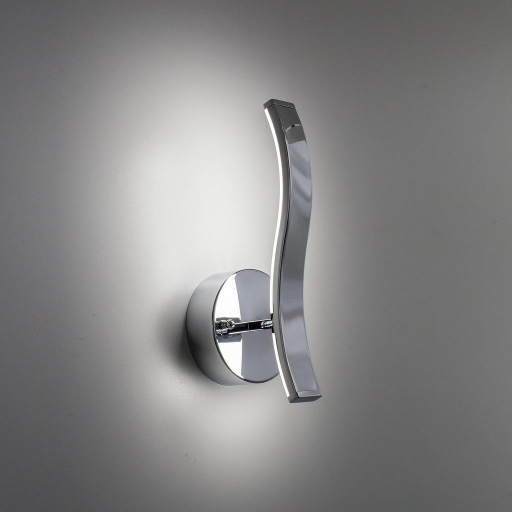 Настенный светодиодный светильник Citilux Джек CL226311 3000-3200K, хром, белый, металл, пластик - фото 6
