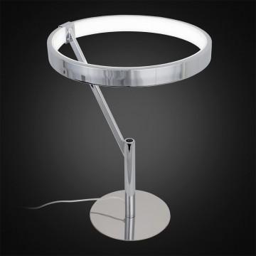 Настольная светодиодная лампа Citilux Джек CL226821, LED 27W 3000-3200K 1950lm, хром, металл, металл с пластиком - миниатюра 2