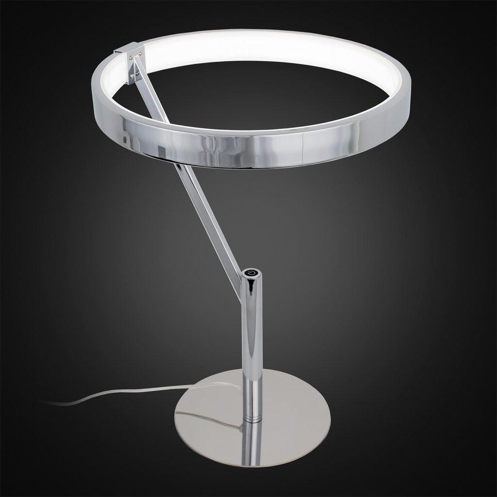 Настольная светодиодная лампа Citilux Джек CL226821, LED 27W 3000-3200K 1950lm, хром, металл, металл с пластиком - фото 2
