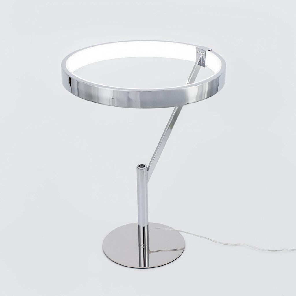 Настольная светодиодная лампа Citilux Джек CL226821, LED 27W 3000-3200K 1950lm, хром, металл, металл с пластиком - фото 3