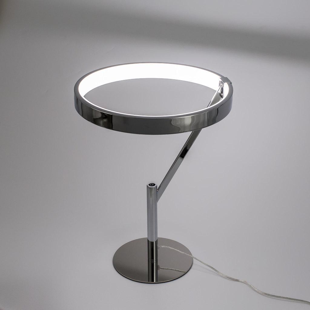 Настольная светодиодная лампа Citilux Джек CL226821, LED 27W 3000-3200K 1950lm, хром, металл, металл с пластиком - фото 4