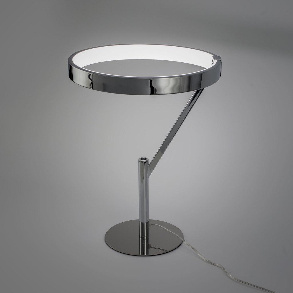 Настольная светодиодная лампа Citilux Джек CL226821, LED 27W 3000-3200K 1950lm, хром, металл, металл с пластиком - фото 8