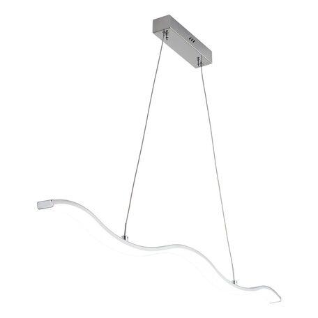 Подвесной светодиодный светильник Citilux Джек CL226111, LED 29W 3000-3200K 1885lm, хром, металл, металл с пластиком