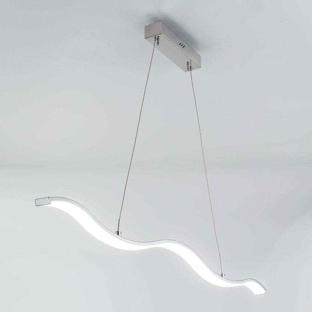 Подвесной светодиодный светильник Citilux Джек CL226111, LED 29W 1885lm, хром, металл, металл с пластиком - фото 3