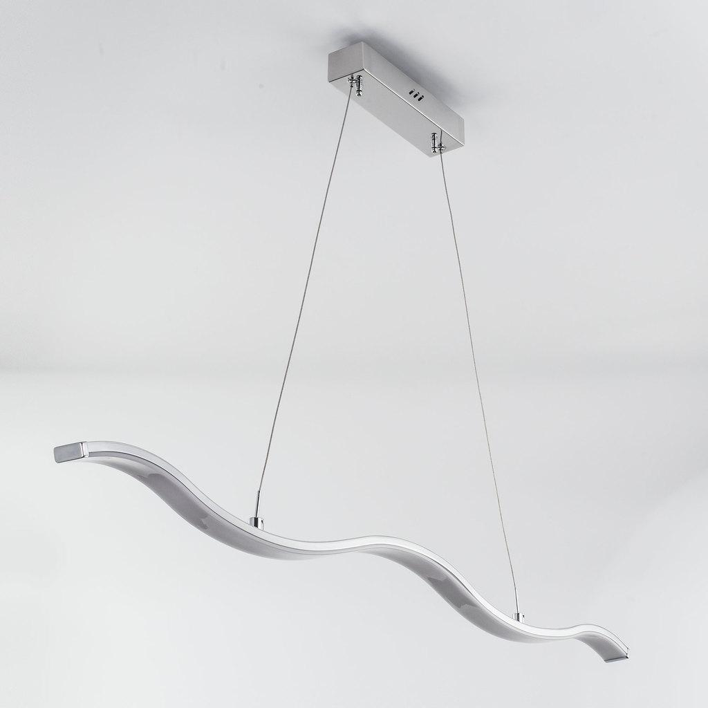 Подвесной светодиодный светильник Citilux Джек CL226111, LED 29W 1885lm, хром, металл, металл с пластиком - фото 4