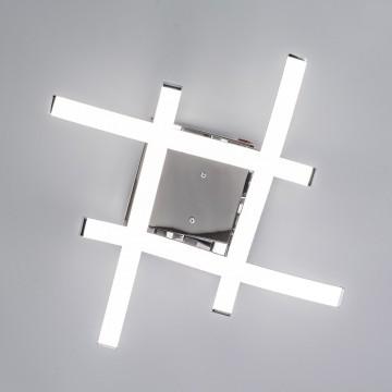 Потолочная светодиодная люстра Citilux Джек CL226121, LED 54W 3000-3200K 3900lm, хром, металл, металл с пластиком - миниатюра 11