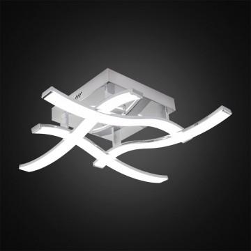 Потолочная светодиодная люстра Citilux Джек CL226121, LED 54W 3000-3200K 3900lm, хром, металл, металл с пластиком - миниатюра 6