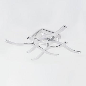 Потолочная светодиодная люстра Citilux Джек CL226131, LED 72W 3000-3200K 5590lm, хром, металл, металл с пластиком - миниатюра 4