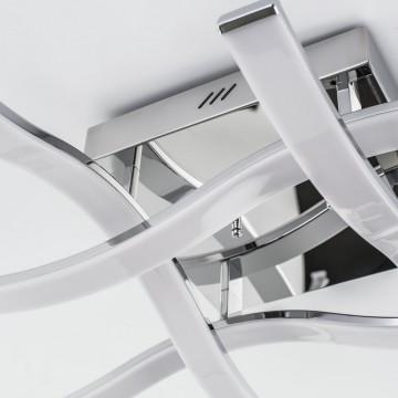 Потолочная светодиодная люстра Citilux Джек CL226131, LED 72W 3000-3200K 5590lm, хром, металл, металл с пластиком - миниатюра 6
