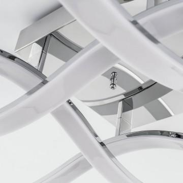 Потолочная светодиодная люстра Citilux Джек CL226131, LED 72W 3000-3200K 5590lm, хром, металл, металл с пластиком - миниатюра 7