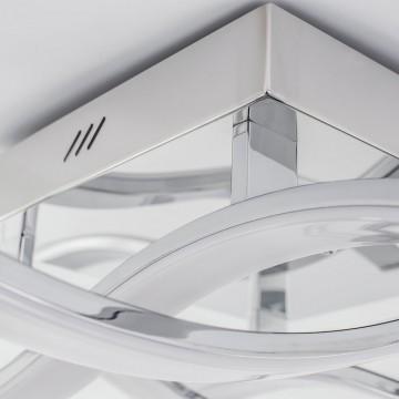 Потолочная светодиодная люстра Citilux Джек CL226131, LED 72W 3000-3200K 5590lm, хром, металл, металл с пластиком - миниатюра 8