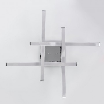 Потолочная светодиодная люстра Citilux Джек CL226131, LED 72W 3000-3200K 5590lm, хром, металл, металл с пластиком - миниатюра 9