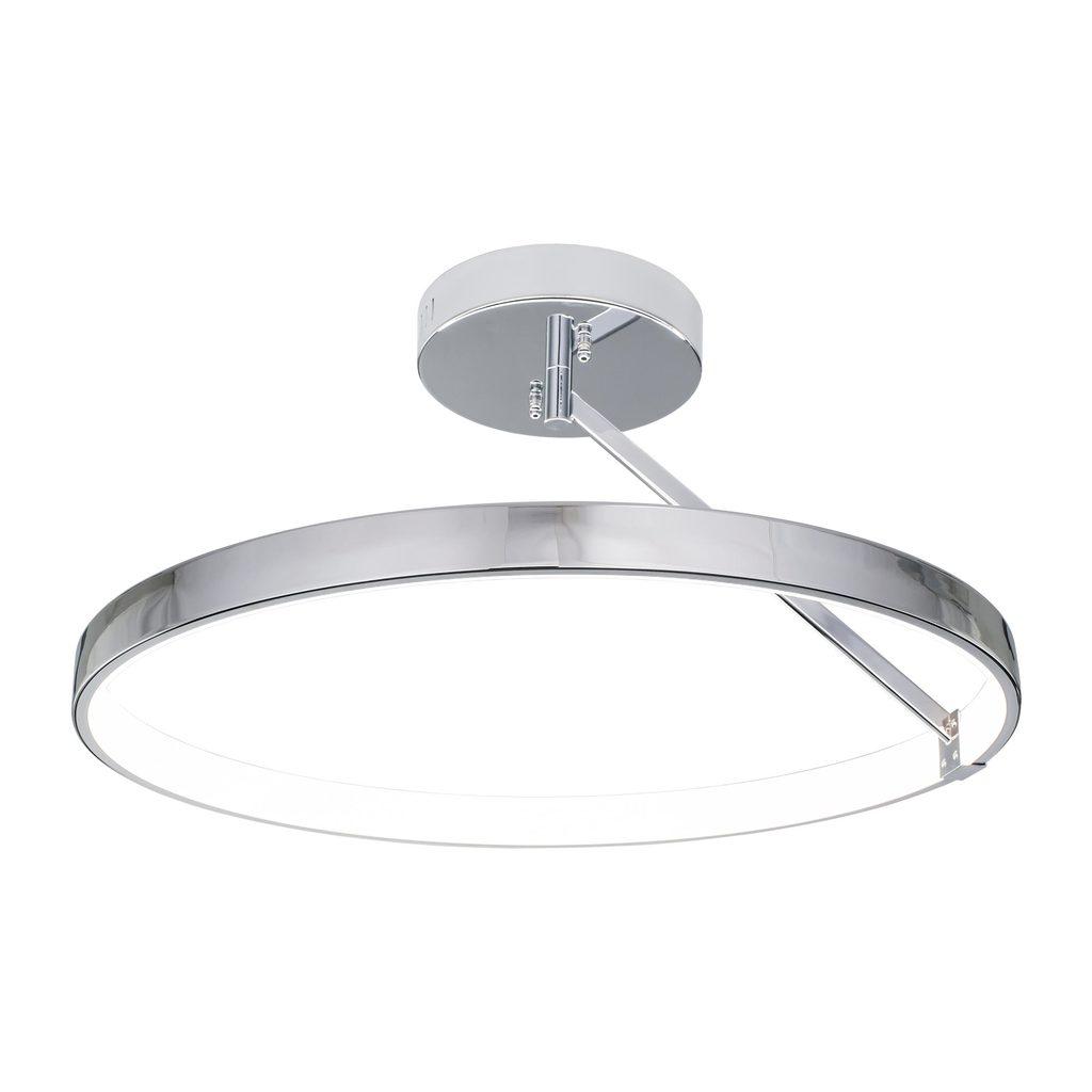 Потолочный светодиодный светильник Citilux Джек CL226221, LED 50W 3000-3200K 3250lm, хром, металл, металл с пластиком - фото 1
