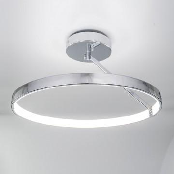 Потолочный светодиодный светильник Citilux Джек CL226221, LED 50W 3000-3200K 3250lm, хром, металл, металл с пластиком - миниатюра 3