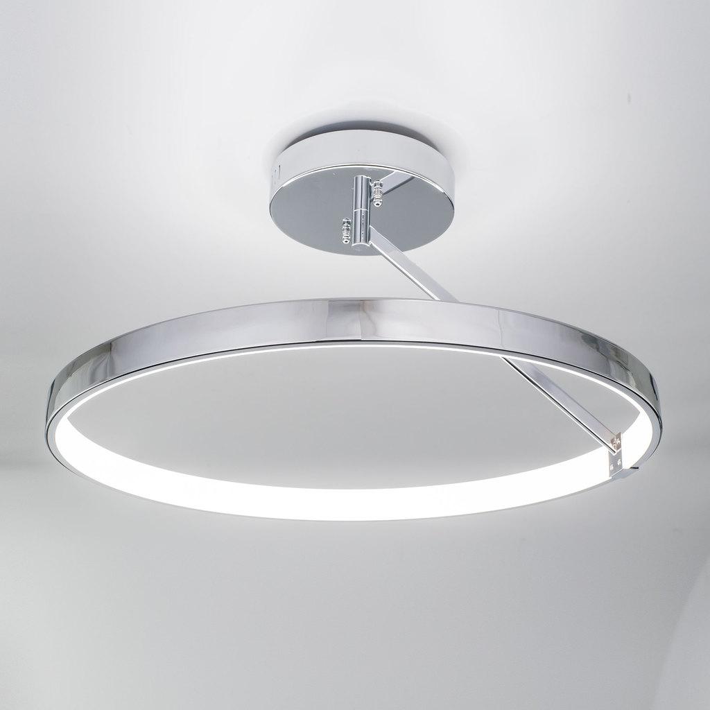 Потолочный светодиодный светильник Citilux Джек CL226221, LED 50W 3000-3200K 3250lm, хром, металл, металл с пластиком - фото 3
