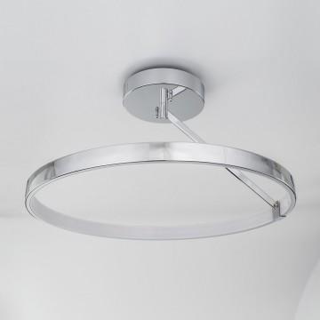 Потолочный светодиодный светильник Citilux Джек CL226221, LED 50W 3000-3200K 3250lm, хром, металл, металл с пластиком - миниатюра 4