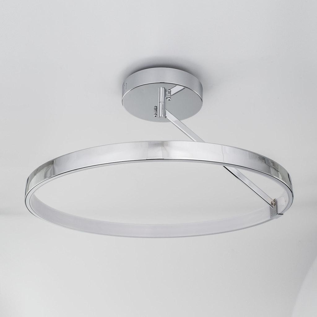 Потолочный светодиодный светильник Citilux Джек CL226221, LED 50W 3000-3200K 3250lm, хром, металл, металл с пластиком - фото 4
