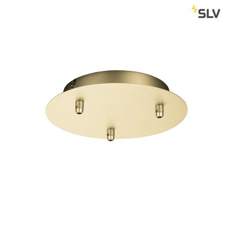 База для подвесного монтажа светильника SLV FITU 1002164, матовое золото, металл