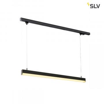 Подвесной светодиодный светильник для шинной системы SLV 3Ph, SIGHT  PD 1002048, LED 3000K, черный, металл