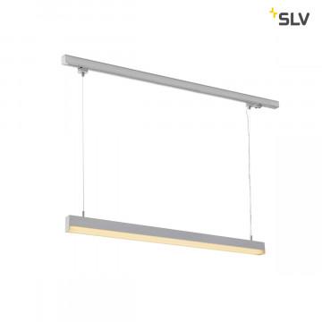 Подвесной светодиодный светильник для шинной системы SLV 3Ph, SIGHT  PD 1002050, LED 3000K, серый, металл