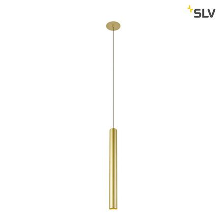 Встраиваемый подвесной светодиодный светильник SLV HELIA 40 1002169, LED 3000K, матовое золото, металл
