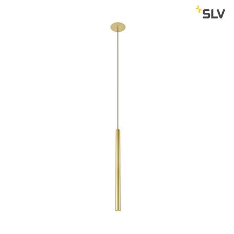 Встраиваемый подвесной светодиодный светильник SLV HELIA 30 1002170, LED 3000K, матовое золото, металл