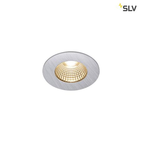 Встраиваемый светодиодный светильник SLV PATTA-I ROUND DtW 1002100, IP65, LED 1800-3000K, алюминий, металл