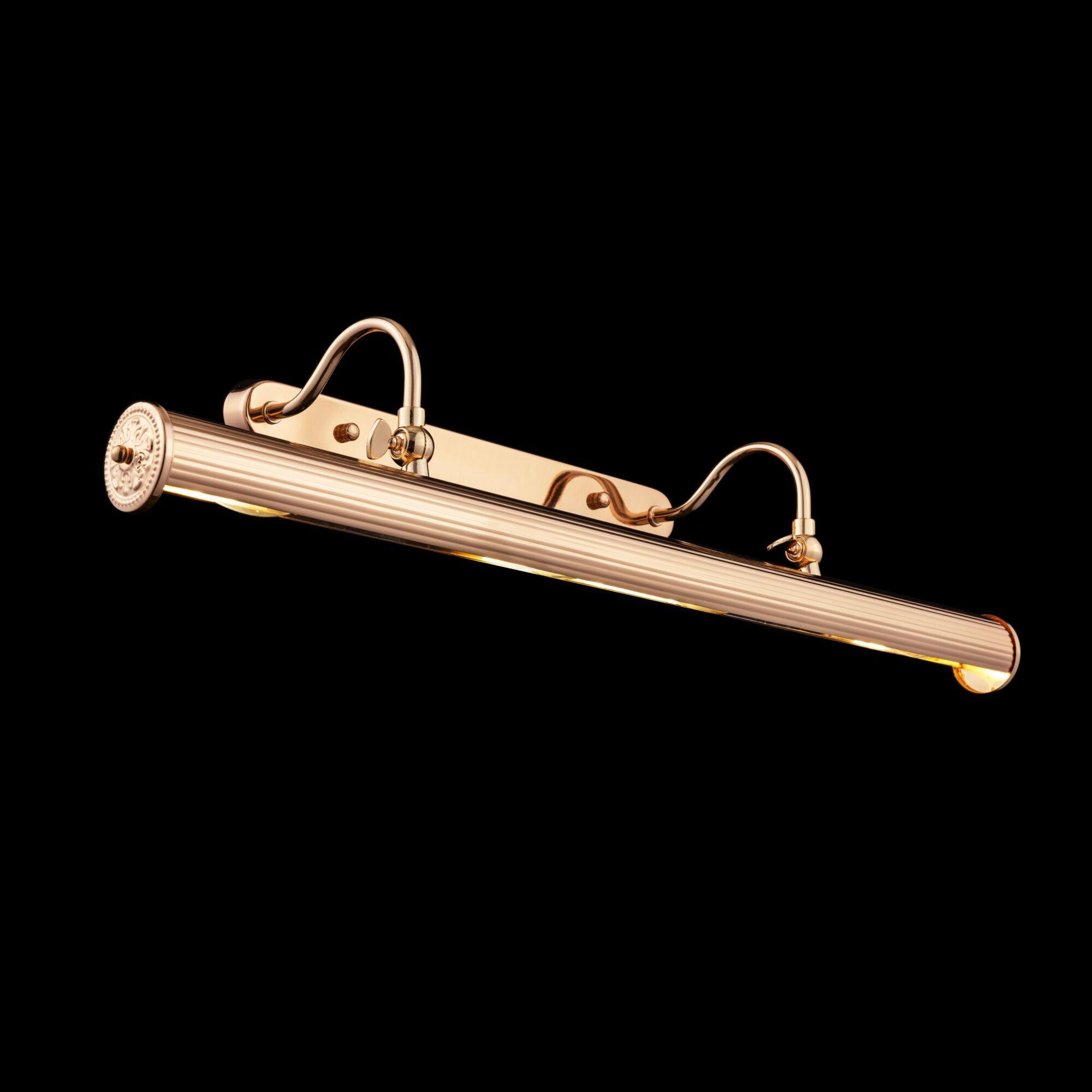 Настенный светильник для подсветки картин Maytoni Govanni PIC119-44-G, 4xE14x25W, золото, металл - фото 4