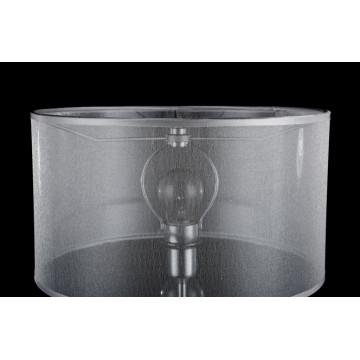 Настольная лампа Maytoni Neoclassic Bubble Dreams MOD603-11-N, 1xE14x40W, хром с прозрачным, прозрачный с хромом, прозрачный, стекло с металлом, текстиль - миниатюра 6
