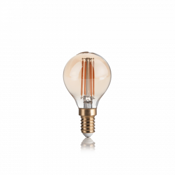 Филаментная светодиодная лампа Ideal Lux LAMPADINA VINTAGE E14 4W SFERA 151656 шар E14 4W, 2200K (теплый) 240V