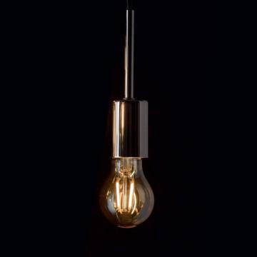 Филаментная светодиодная лампа Ideal Lux LAMPADINA VINTAGE E27 4W GOCCIA 151687 A60 E27 4W 2200K (теплый) 240V - миниатюра 2