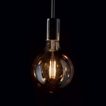 Филаментная светодиодная лампа Ideal Lux LAMPADINA VINTAGE E27 4W GLOBO SMALL 151717 G95 E27 4W 2200K (теплый) 240V - миниатюра 2